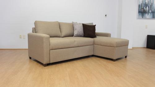 sofa cama matrimonial nuova muebles mobydec moderno