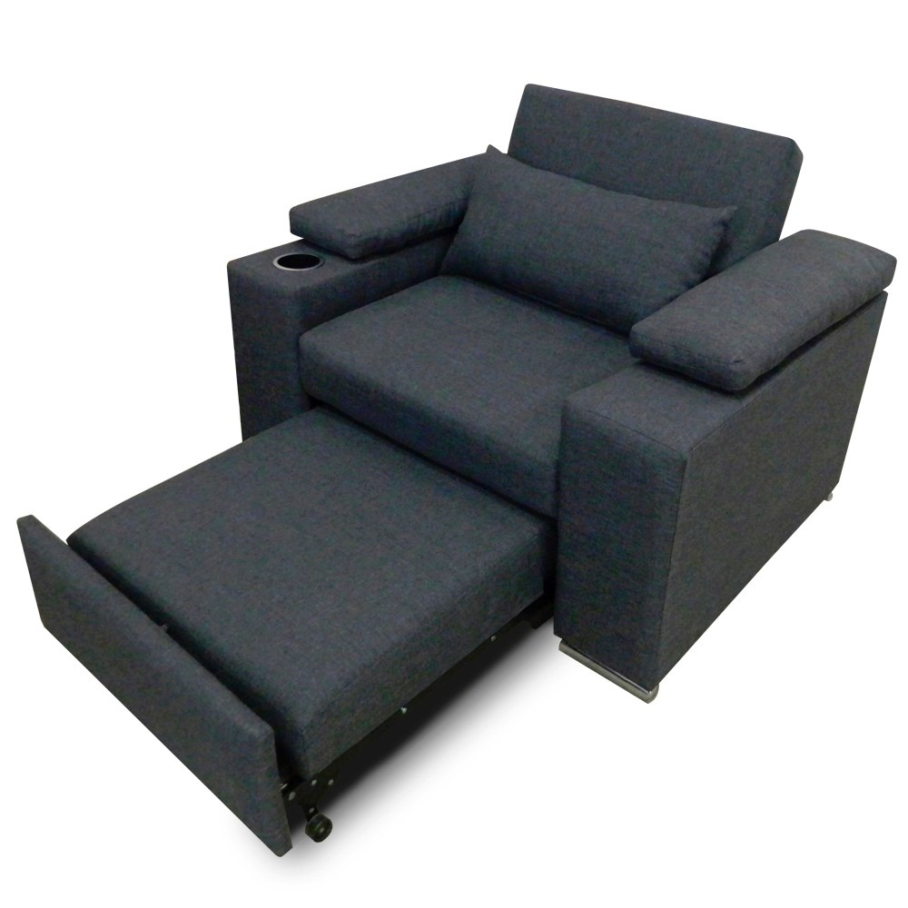 Sofa cama minimalista individual mobydec 5 en for Sofa minimalista