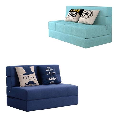 sofá cama moderno individual