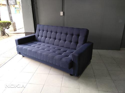sofá cama munich matrimonial entrega 2 días en gris o azul