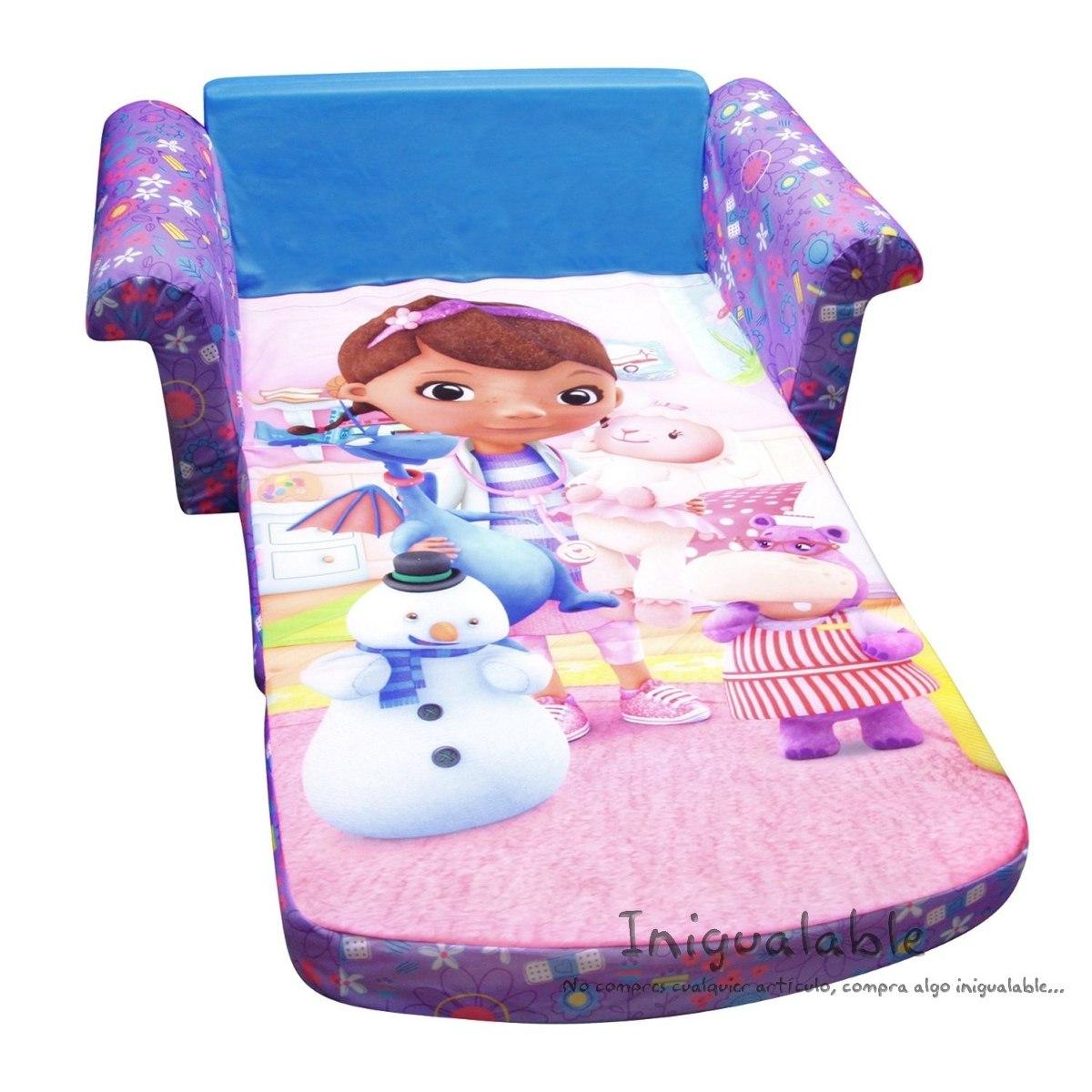 Sofa cama para ni os disney doc mcstuffins 2 en for Divan para ninos