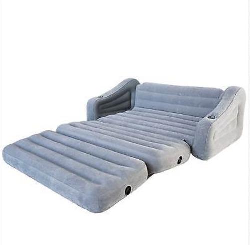 Air O Sofa: Sofa Cama Queen Matrimonial Inflable Intex