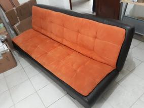 Sillones Reclinables Usados.Sofa Cama Reclinable 3 Plazas Futon Sillon Remate Usado