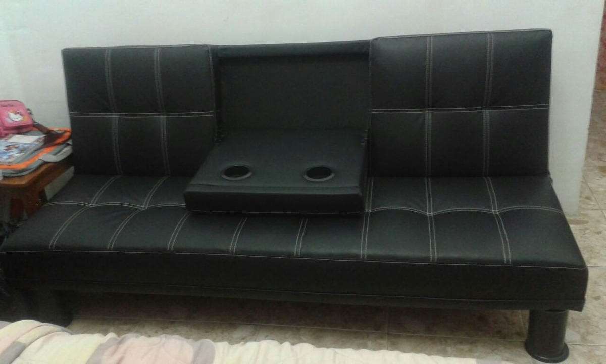 Sofa Cama Semi Piel Pixys Bs 29 900 00 En Mercado Libre # Muebles Tiendas Pixys