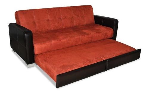 sofá cama sofacama sala sillón futón mod grecco mobydec daa