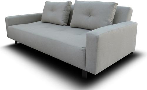 sofá camaq futón sillón sofacama sala muebles vintage envio