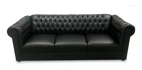 sofá capitonado vintage salas modernas minimalistas lounge