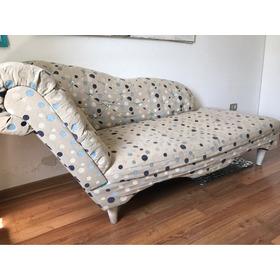 Sofa Capitone Chaise Longue