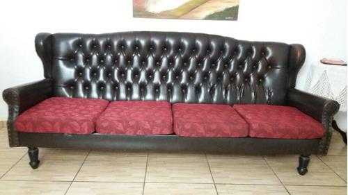 sofá capitone colonial