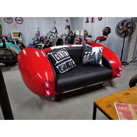 Sofá Carro Shelby Cobra  Vermelho - Antigo-  Retrô