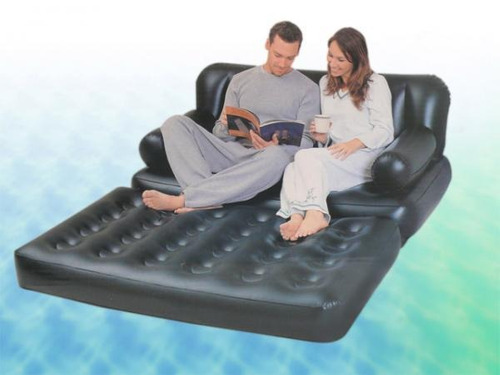 sofa colchon inflable
