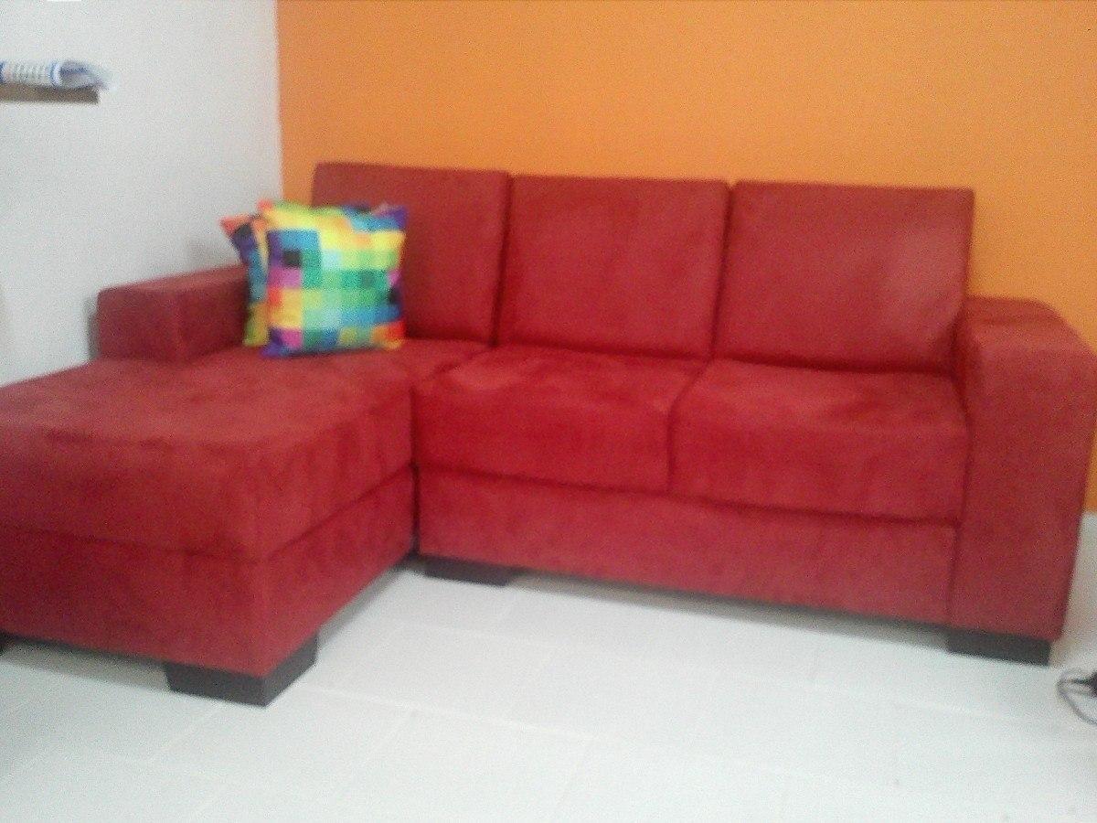 sof com chaise mv estofados r em mercado livre. Black Bedroom Furniture Sets. Home Design Ideas