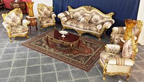 Sofa Completo Design Classico Egipcio Alta Decoracao Luxuoso