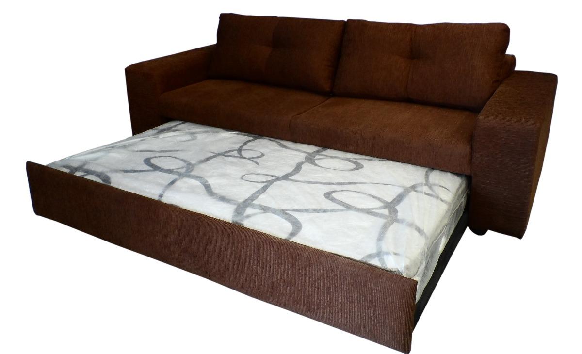 Sofa con cama nido p colchon ind tymi megan tela for Donde venden sofa cama