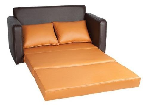 sofá converticama matrimonial chocolate
