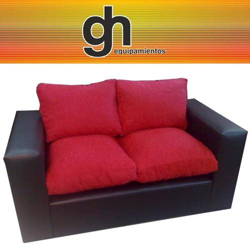 sofa de 2 cuerpos, excelente sillon super comodo