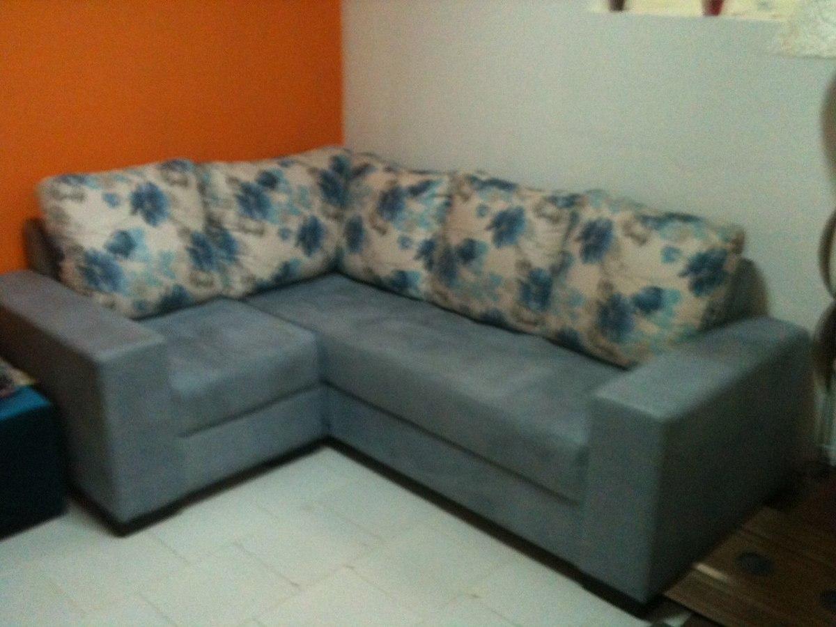 Sofa De Canto R 1 500 00 Em Mercado Livre -> Estofados De Canto Confortavel Para Sala Pequena