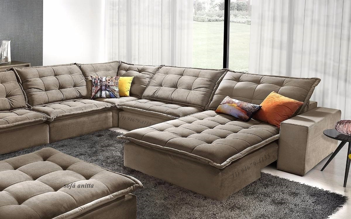 Sofa De Canto Anitta Retratil E Reclinavel - R$ 5.999,99 ...