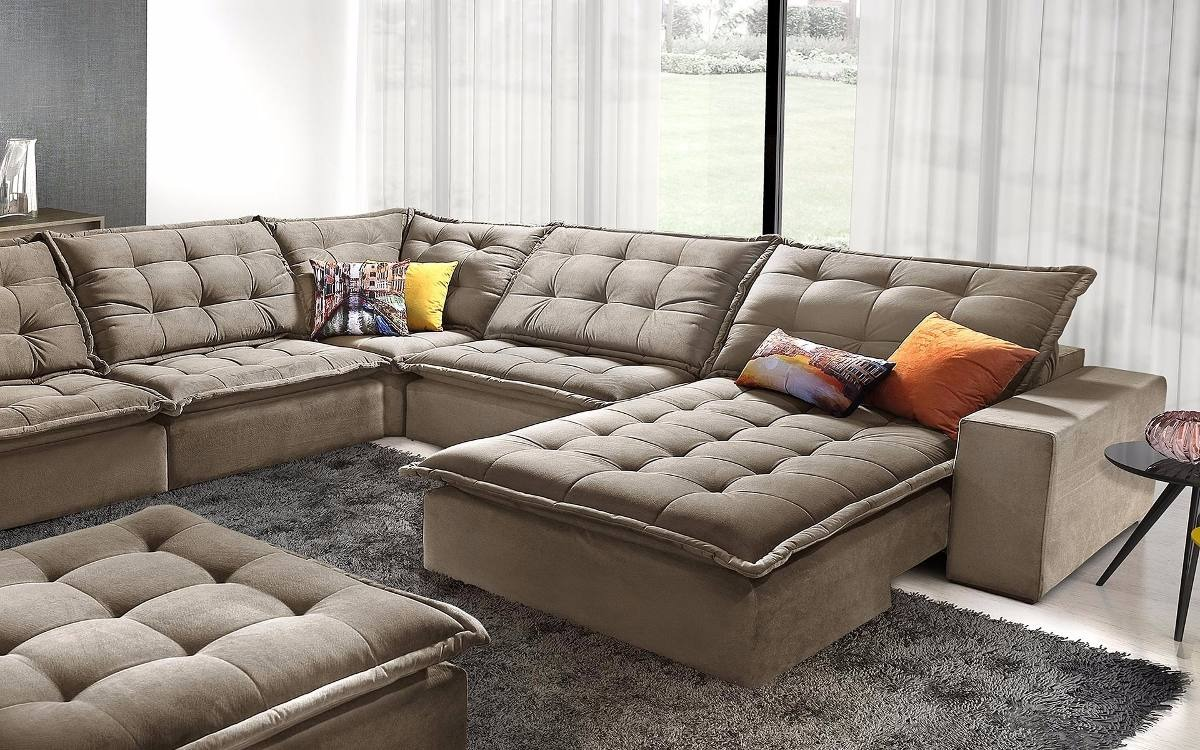 Sofa De Canto Anitta Retratil E Reclinavel - R$ 5.199,99 ...