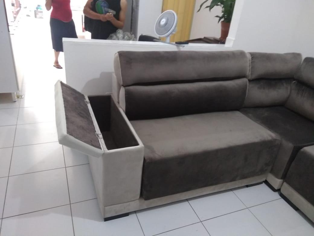 Sofa Retratil Bau   Baci Living Room