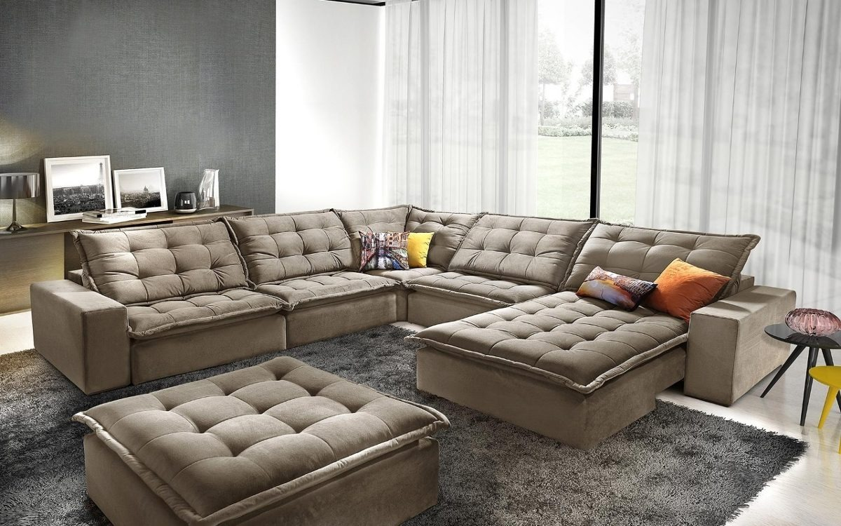 Sofa De Canto Retratil E Reclinavel Anitta - R$ 6.599,99 ...