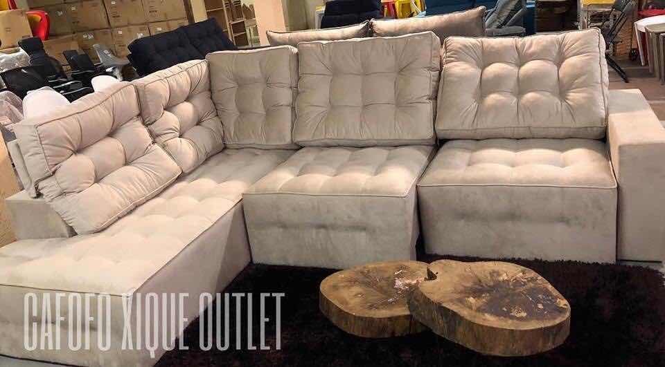 Sofa De Canto Retratil E Reclinavel Com Chaise 2,5m X 2m ...