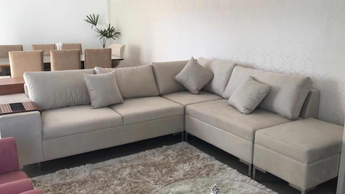 Sofa De Canto Sob Medida - Varias Cores, Modelo Luxo Lindo ...