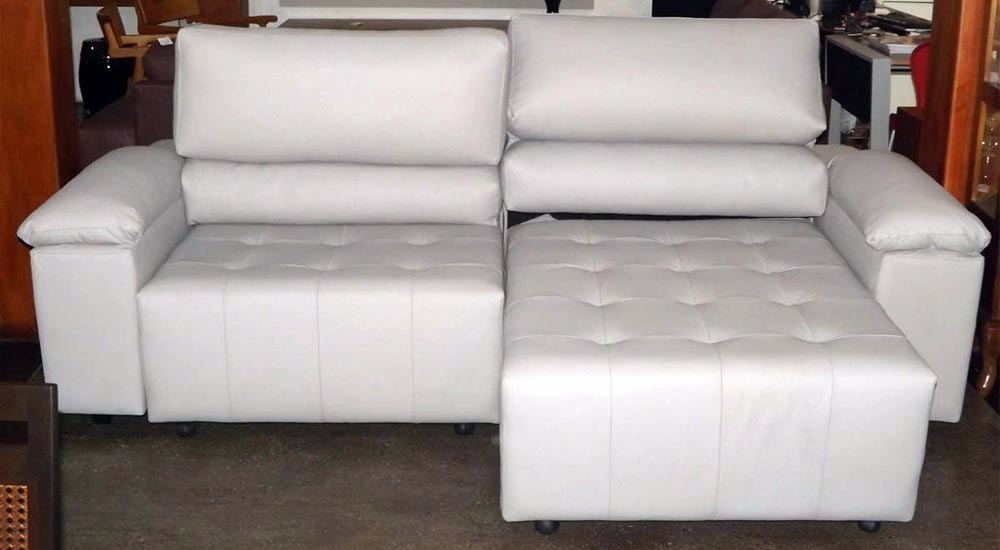 Sofa De Couro Retratil E Reclinavel 2 Mod. San Marino 2 ...