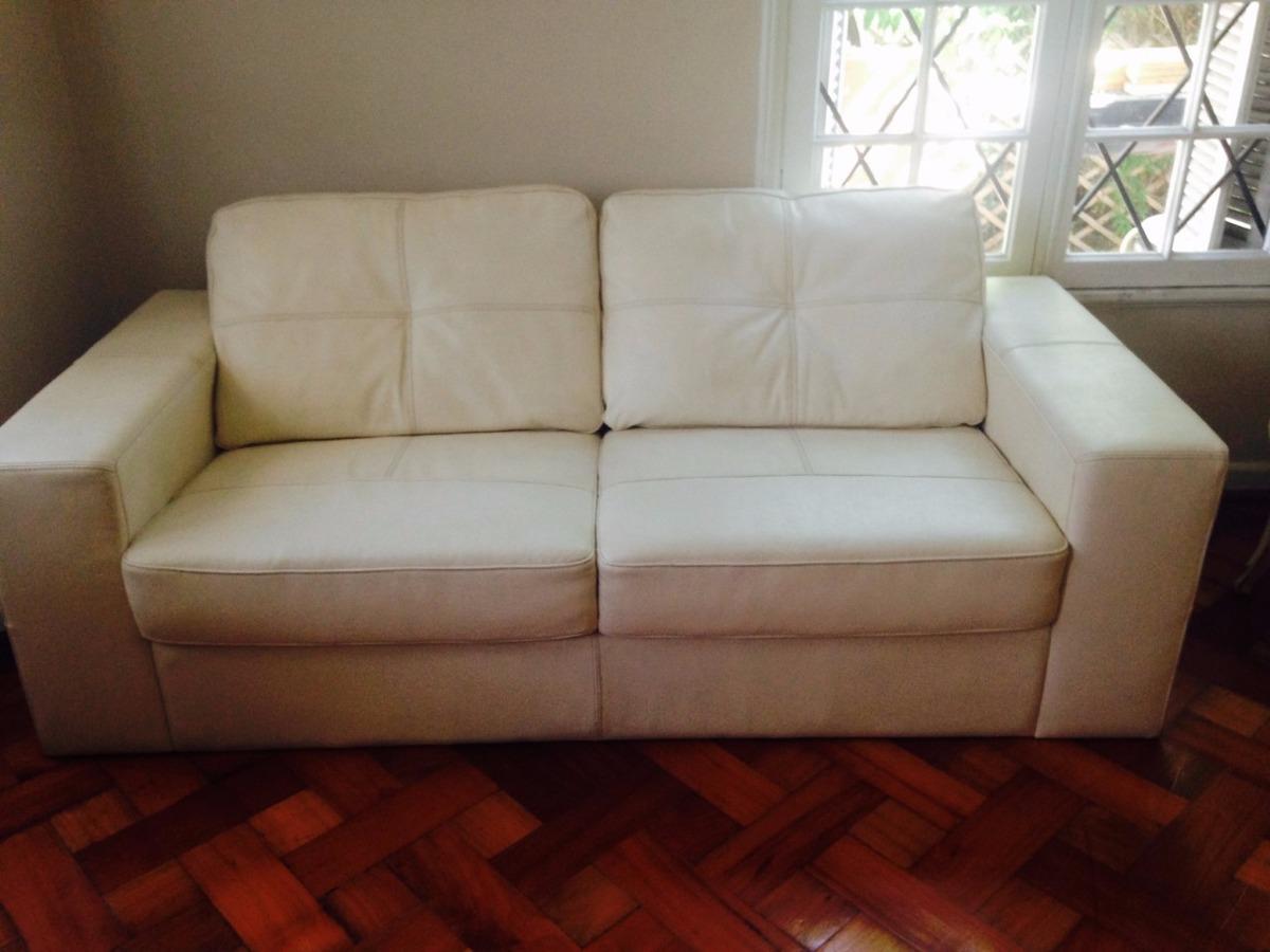 Sof de cuero blanco 3 cuerpos en mercado libre - Sofa cuero blanco ...