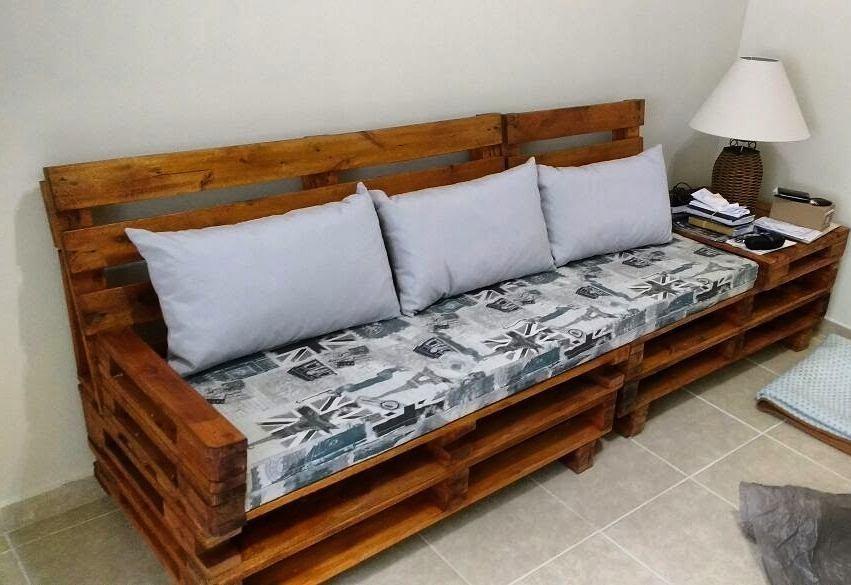 Sofa De Pallet / Palet /palete /pallets - R$ 499,00 em ...