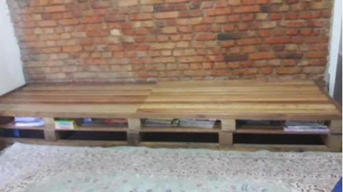 sofá de pallets