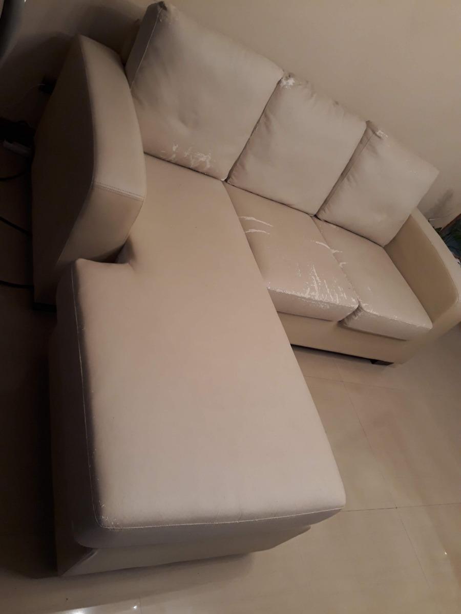Como Tapizar Cojines.Sofa De Semi Piel Para Tapizar Los Cojines