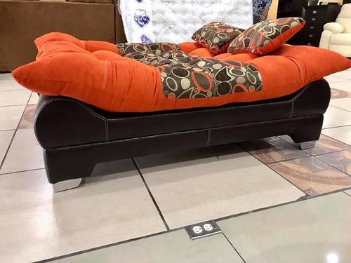 sofa desplegable sofía 1 plaza varios tapizados
