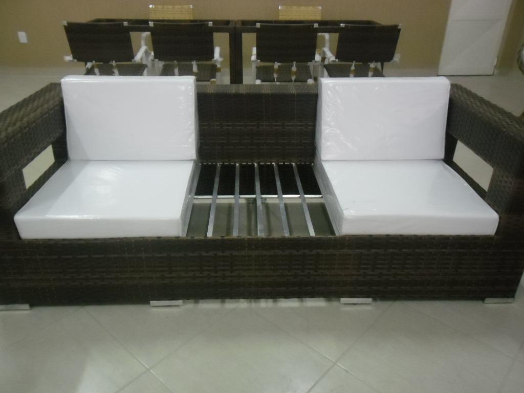 Sofá Em Alumínio De Alta Qualidade E Fibra Sintética R$ 6.750 00  #6C6347 1024x768