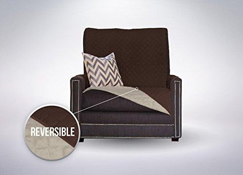 sofá escudo protector de muebles reversible correa elástica