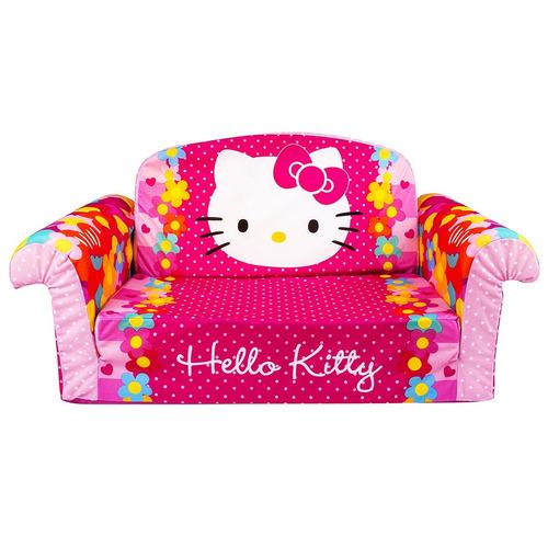 sofá espuma tapizado niños decoración habitación hello kitty