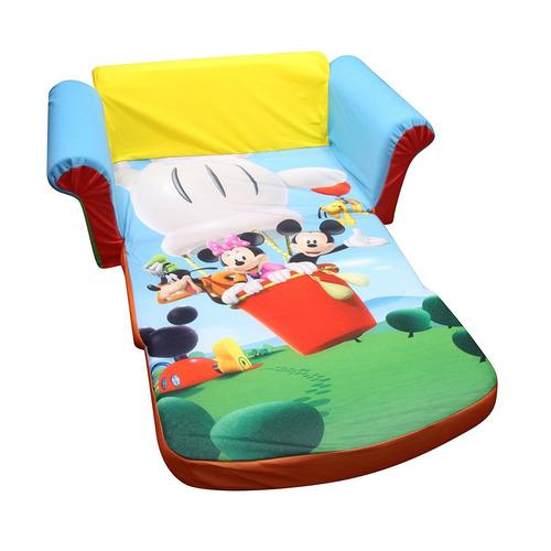 sofá espuma tapizado niños decoración habitación mickey