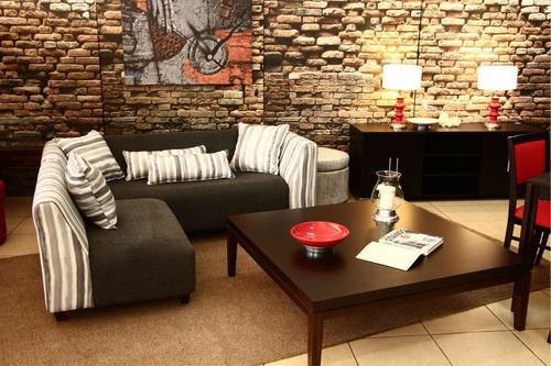 sofá esquinero de 200 por 180 cm. en dos módulos