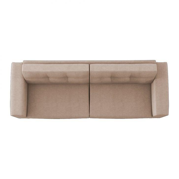 Sofa Hugo Pe Palito Madeira Luxo Novo Retro 140cm 2