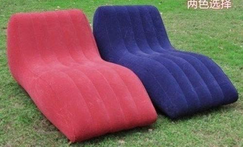 sofa inflable best camp sabe descansar, relajante