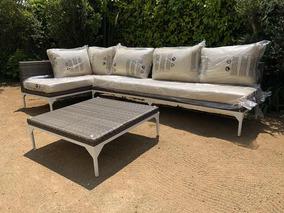 Sofa Living De Rattan De 1 50x3mts