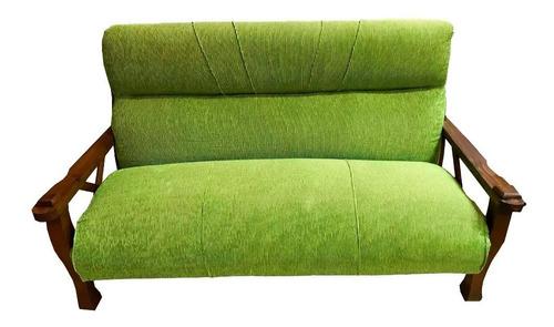 sofa living hamburgo 3+1 +1 en madera mi casa