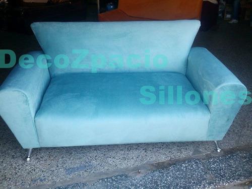 sofa modelo simpson 3 cp en tela pana o tela chenille