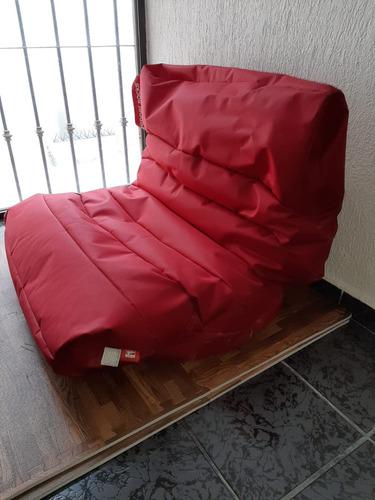 sofá moderno  pepper sacks. impecable estado, como nuevo