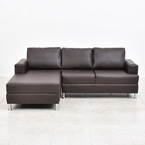 Superb Sofa Modular En L Boris Izquierdo Eco Cafe Y Negro Squirreltailoven Fun Painted Chair Ideas Images Squirreltailovenorg