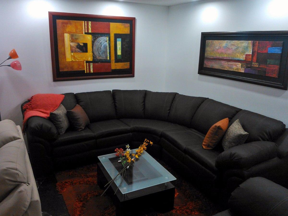 Sofa modular recibo juego de sala mueble en l bs for Muebles modernos para sala