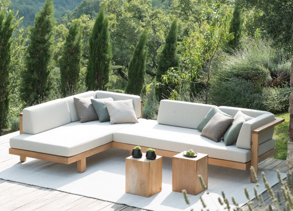 Sofa mueble jardin terraza exteriores modernos bs 212 for Muebles para terraza y jardin