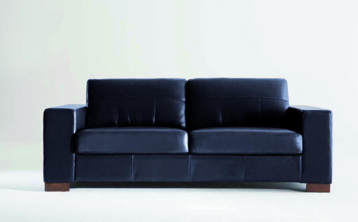 Sofa Muv 2 Cuerpos 100 Cuero Natural Champagne Home U S 830  # Champagne Muebles Uy