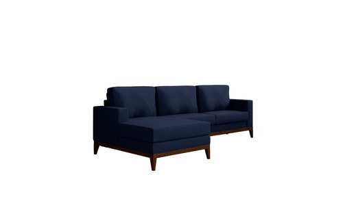 sofá novo barato macio casa living luna chess chaise 3 lug
