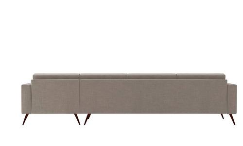 sofá novo lançamento moderno barato style living chaise 4